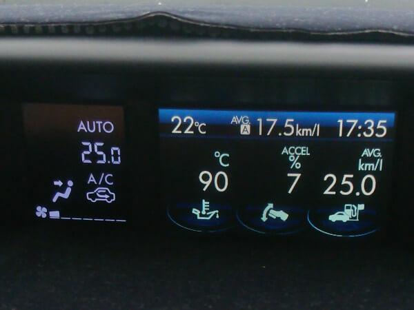 インプレッサG4 燃費