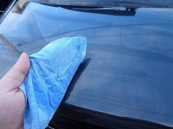 小麦粉洗車 ペーパータオル