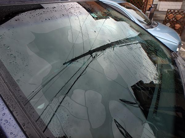 小麦粉洗車 親水