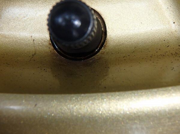 ホイール しつこい鉄粉