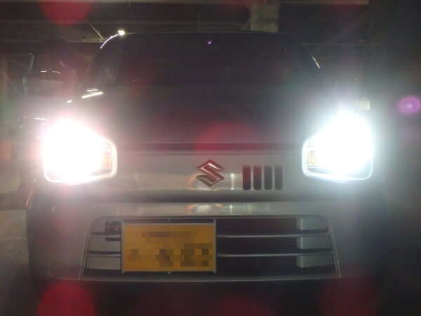 アルト LEDヘッドライト