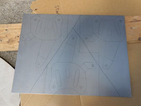 補強 自作 鉄板