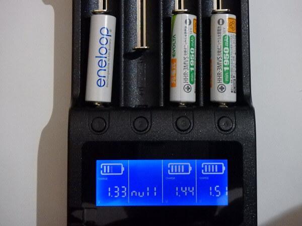 充電器 エラー 充電可能