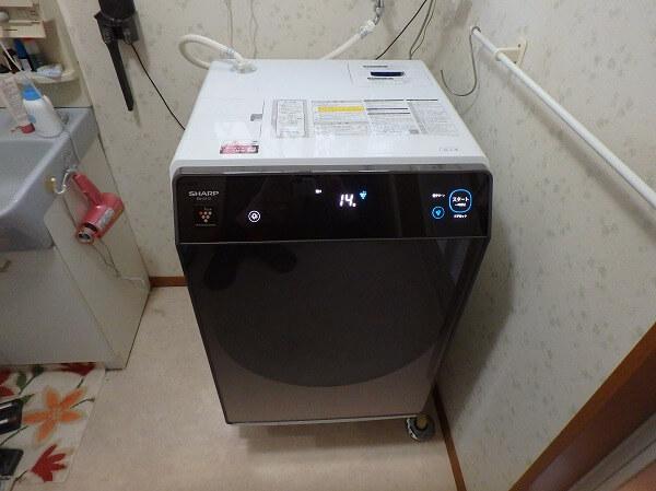 シャープ ドラム式 洗濯機 ES-G112