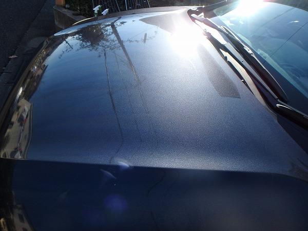 シリコーン洗車 色の深みが増す