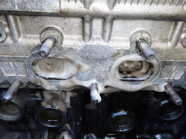 排気ポート カーボン除去 ハイカーボン