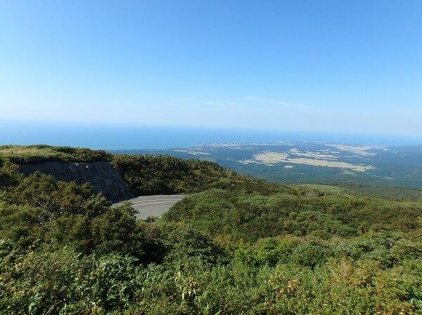 鳥海高原ライン 展望
