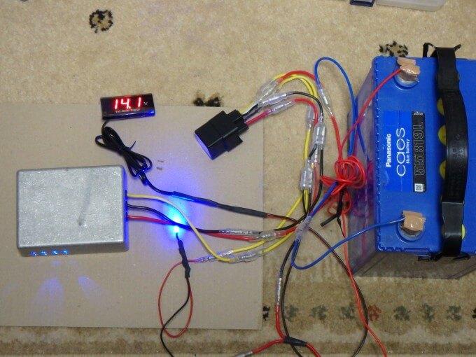 16V化 実験 安全装置