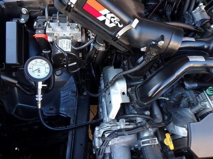 インプレッサ G4 コンプレッションゲージ 圧縮