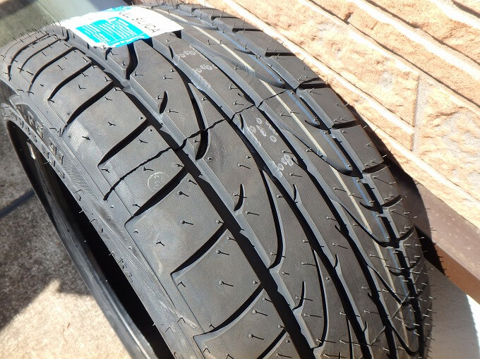 Pinso tyres PS-91 ヒゲが多い