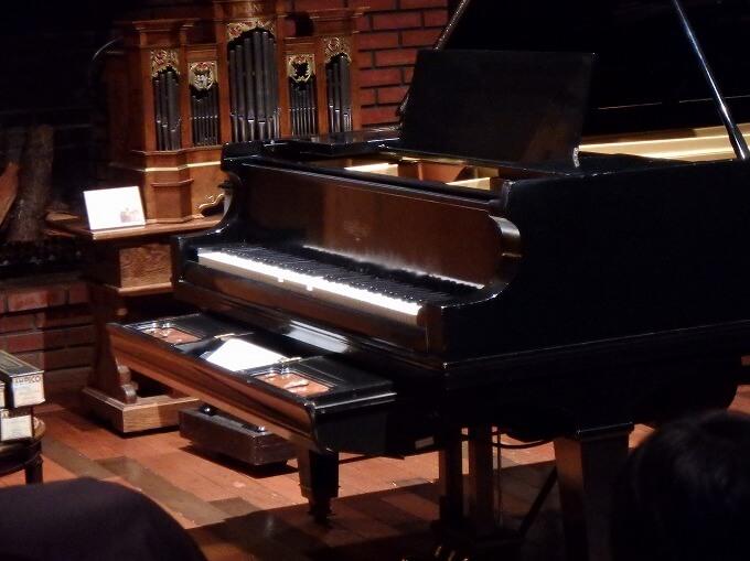オルゴール博物館 ピアノ自動演奏
