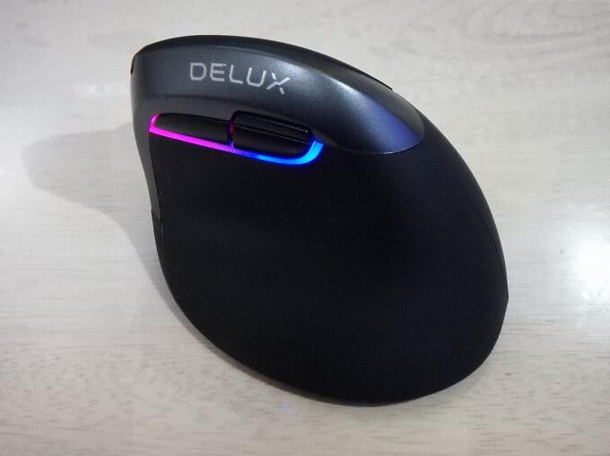 DELUXのM618mini 肩こり対策