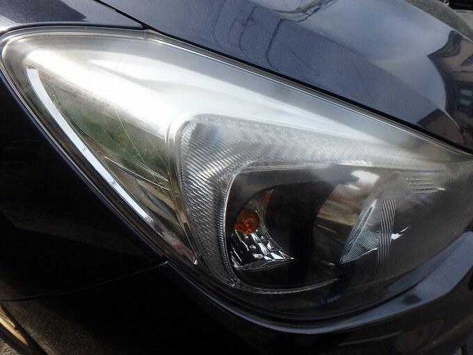 インプレッサ G4 ヘッドライト劣化
