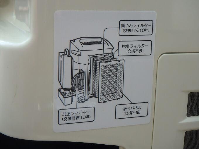 空気清浄機 シャープ フィルター 交換時期