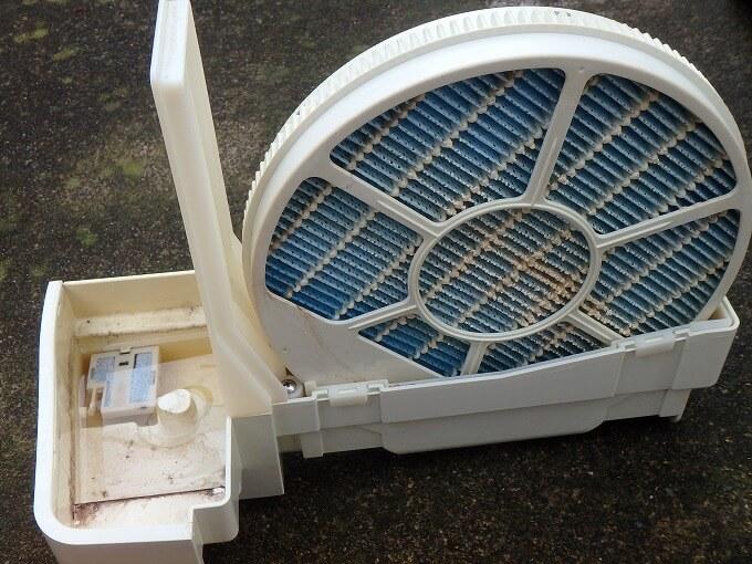 空気清浄機 加湿フィルター メンテナンス