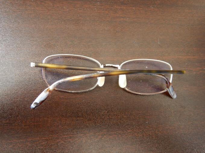 メガネ フレーム 劣化